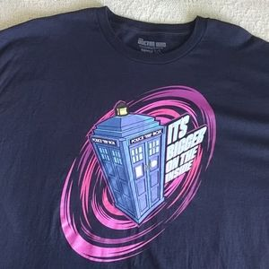 Doctor Who t-shirt 2XL